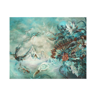 Gaia Canvas Art Print