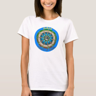 Gaia Center of Being T-Shirt