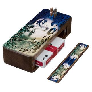 Gaia Cribbage Board