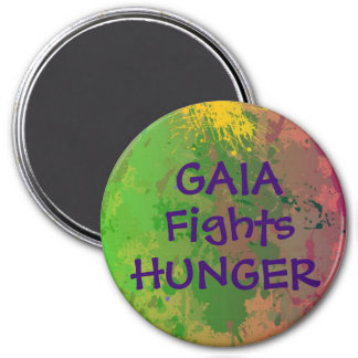 GAIA Fights Hunger Magnet