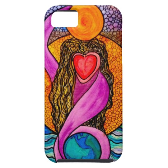 Gaia Goddess iPhone SE/5/5s Case