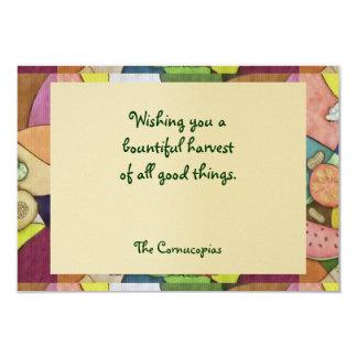 Gaia Harvest Lammas Single Page Greeting Card
