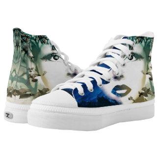 Gaia High-Top Sneakers