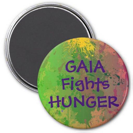 GAIA lucha el imán del hambre