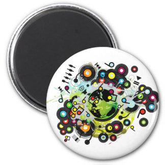 Gaia_Memories 2 Inch Round Magnet