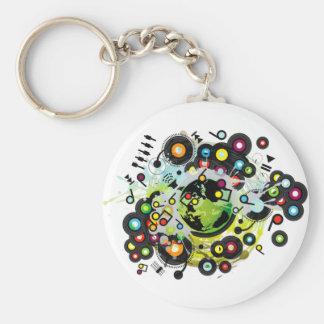 Gaia_Memories Basic Round Button Keychain
