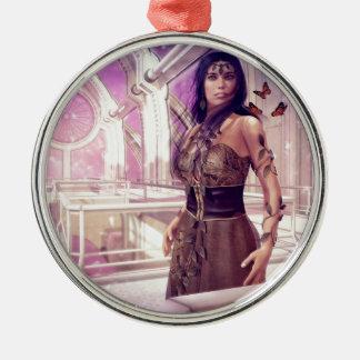 Gaia Metal Ornament