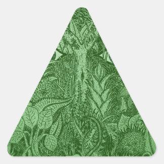Gaia Mind of Nature Triangle Sticker