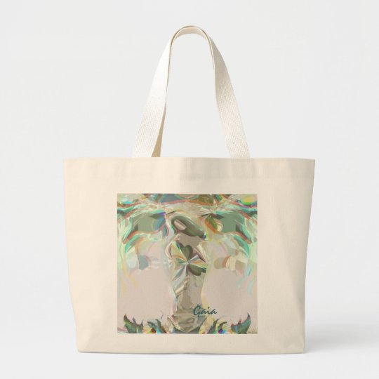 Gaia (Mother Earth) Large Tote Bag