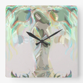 Gaia (Mother Earth) Square Wall Clock