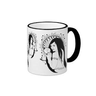 Gaia Native Connections Ringer Coffee Mug