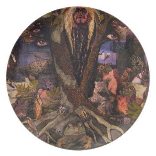 Gaia ~ original collage by Aleta Plate