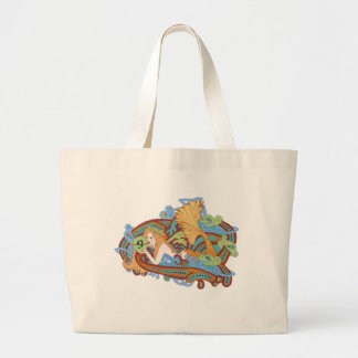 Gaia s Celtic Wave Canvas Bag