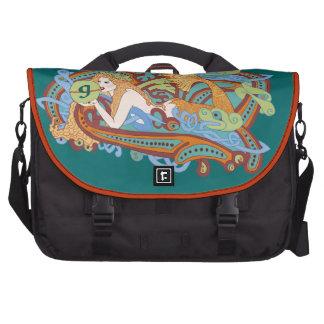 Gaia s Celtic Wave Computer Bag