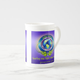 Gaia Scene Bone China Tea Cup