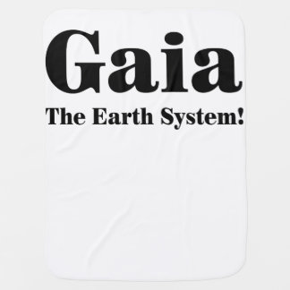 Gaia - The Earth System! Swaddle Blankets