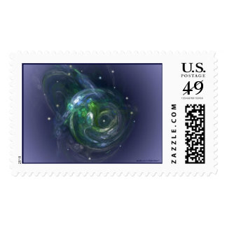 GAIA THE LIVING PLANET POSTAGE STAMPS