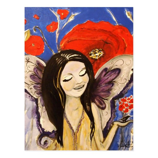 Gaia's Angel Child Postcard