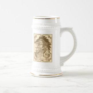 Gaia's Globe/Sepia Beer Stein