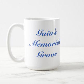 Gaia's memorial Grove mug