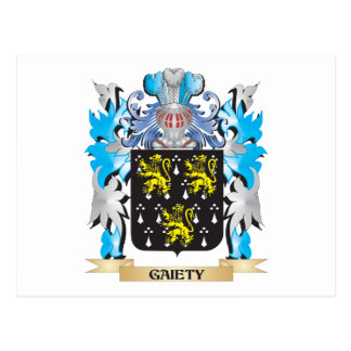 Gaiety Coat of Arms - Family Crest Postcards