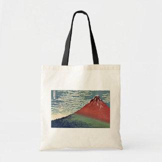 Gaifu kaisei by Katsushika, Hokusai Ukiyoe Tote Bags