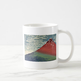 Gaifu kaisei by Katsushika, Hokusai Ukiyoe Classic White Coffee Mug