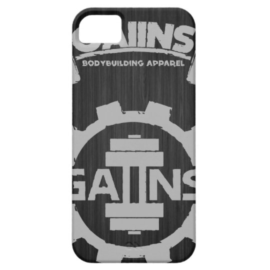 GAIINS BODYBUILDING APPAREL *NEW* IPHONE*CASE iPhone SE/5/5s CASE
