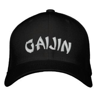 Gaijin 外人 embroidered baseball caps