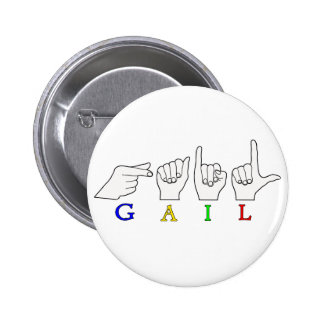 GAIL NAME ASL FINGERSPELLED SIGN BUTTON