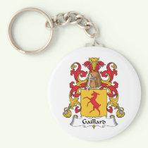 Gaillard Family Crest Keychain