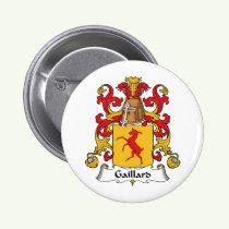 Gaillard Family Crest Button