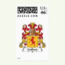 Gaillard Family Crest Stamps
