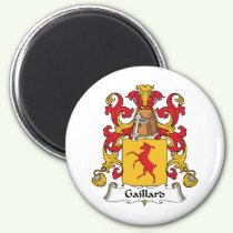 Gaillard Family Crest Magnet