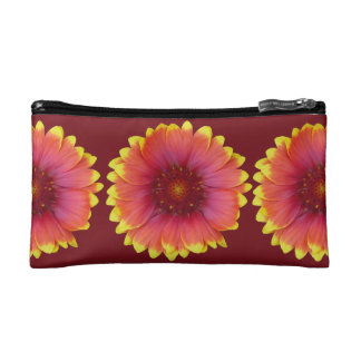 Gaillardia 1 cosmetic bag