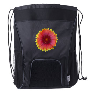 Gaillardia 1 drawstring backpack