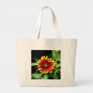 Gaillardia Blanket Flower Large Tote Bag