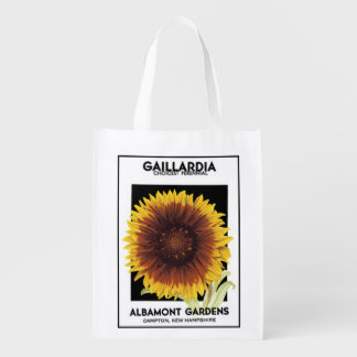 Gaillardia Reusable Bag Reusable Grocery Bags