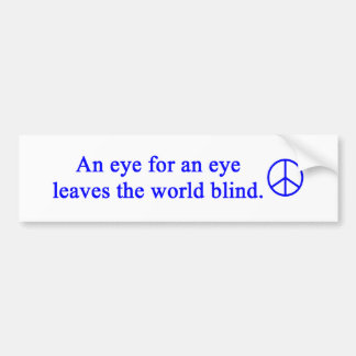 gail's peace design bumper sticker
