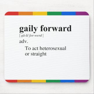 GAILY FORWARD MOUSEPAD