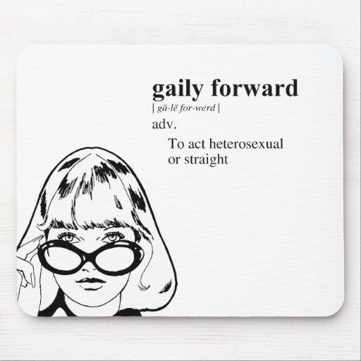 GAILY FORWARD MOUSEPADS