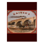 Gainer's Spanish Bitters Postcards