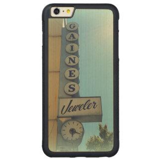 Gaines Jeweler Carved Maple iPhone 6 Plus Bumper Case