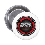 Gaines Motor Coach Tour bus hustlers Pinback Button