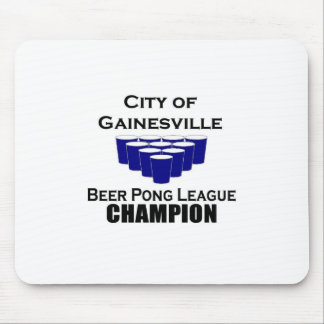 Gainesville Beer Pong Champ Mouse Pad