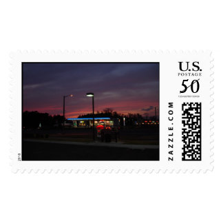 Gainesville Sunset Postage