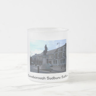 Gainsborough Frosted Glass Coffee Mug