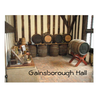 Gainsborough Hall Postcard