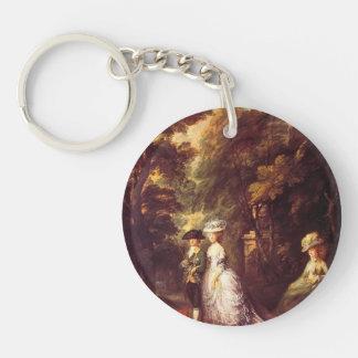 Gainsborough- The Duke and Duchess of Cumberland Key Chain
