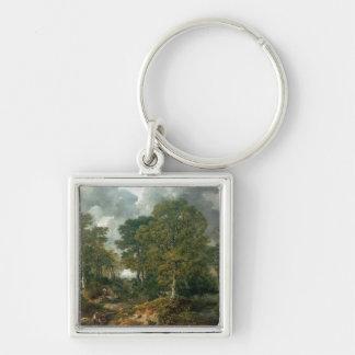 Gainsborough's Forest , c.1748 Keychain